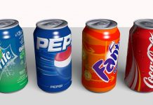 Coca-cola, Pepsi, Fanta