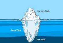 Iceberg representando la red