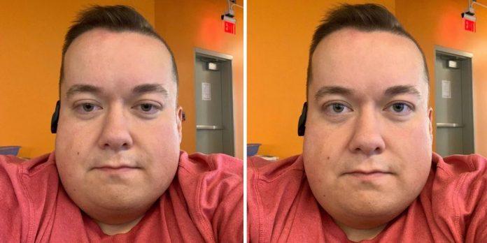 Desarrollador de Apple mostrando la diferencia de videollamda en iOS 13