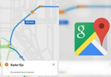 Google Maps avisa de radares