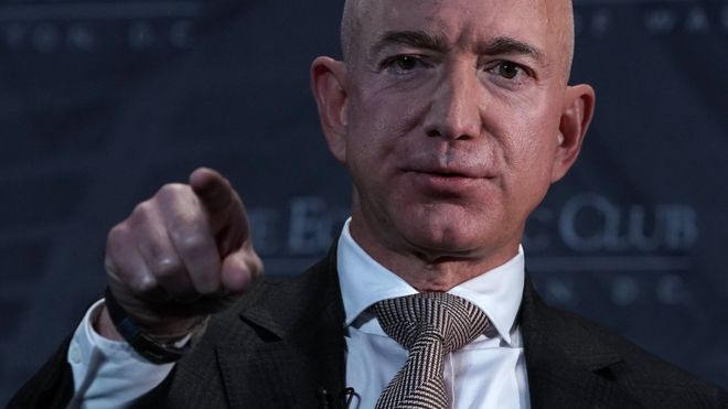 Jezz Bezos de Amazon