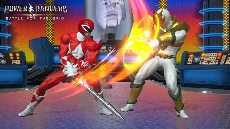 Power Rangers Battle For The Grid de Google Stadia