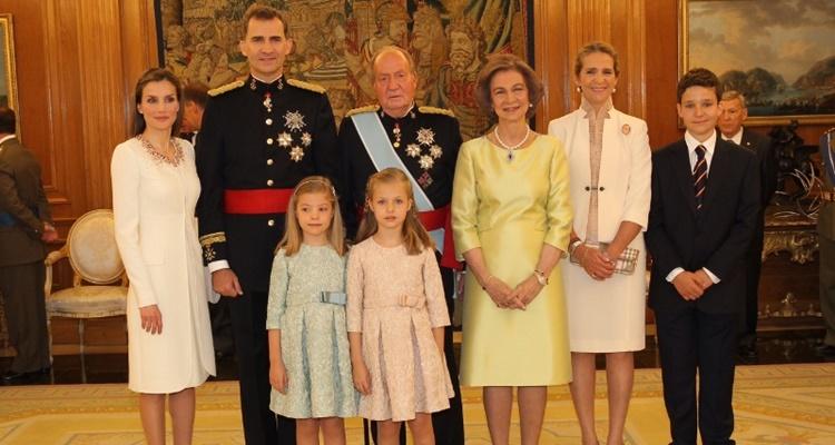 Sueldos de los Reyes en la Casa Real