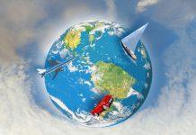 Globo terráqueo - Agencia de viajes