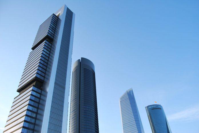 Torres de empresas en ciudades