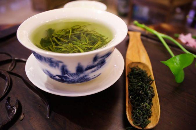 que contiene el te verde para adelgazar