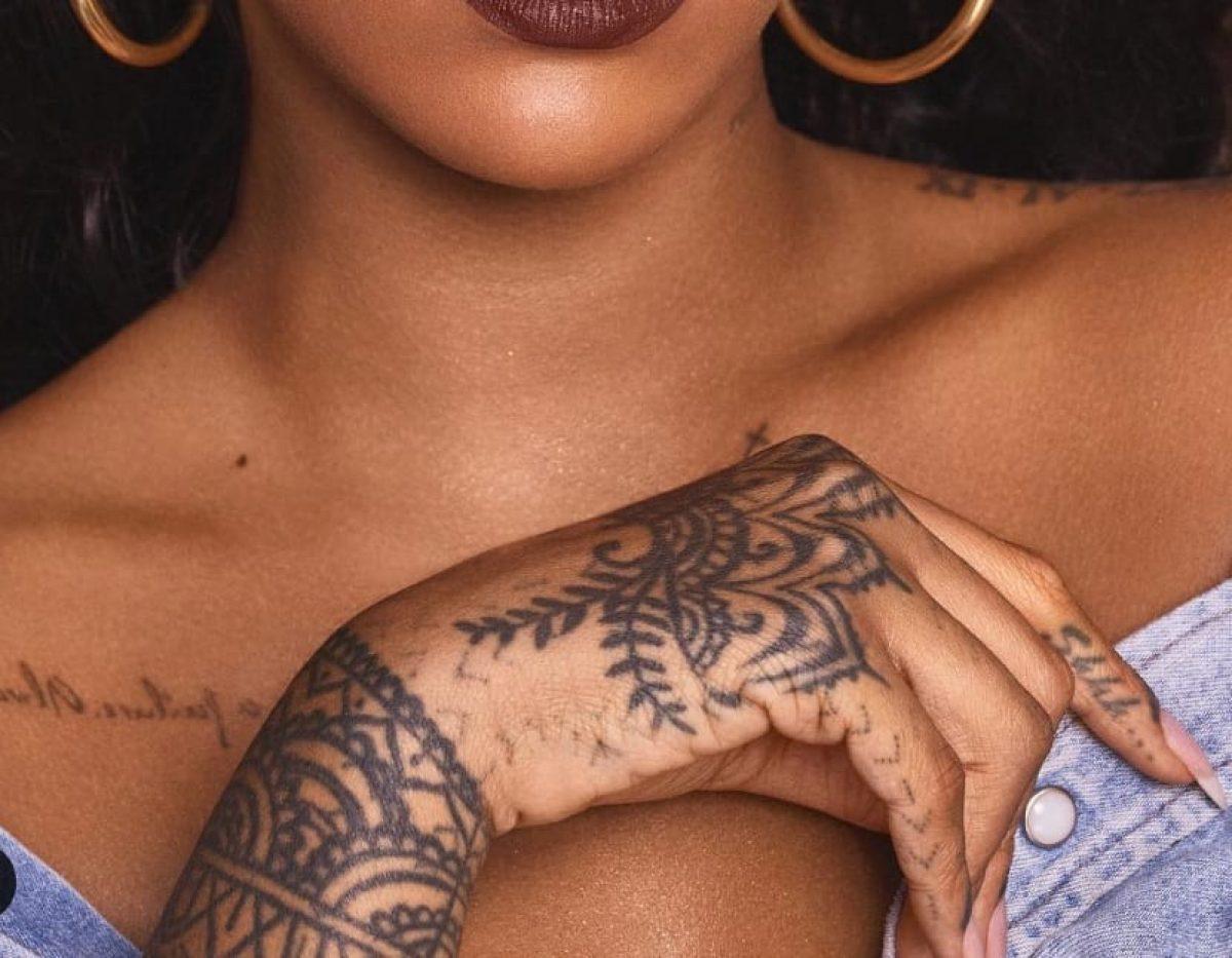 Cuales Son Los Tatuajes De Rihanna elsa pataky, pilar rubio, rihanna y otras famosas con