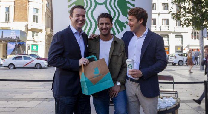 Deliveroo Starbucks en España