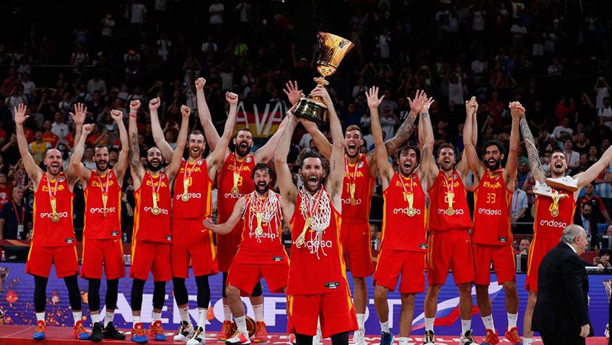 La selección española de basket catapulta a Endesa