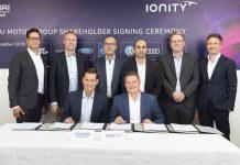 Hyundai y Kia joint venture recarga