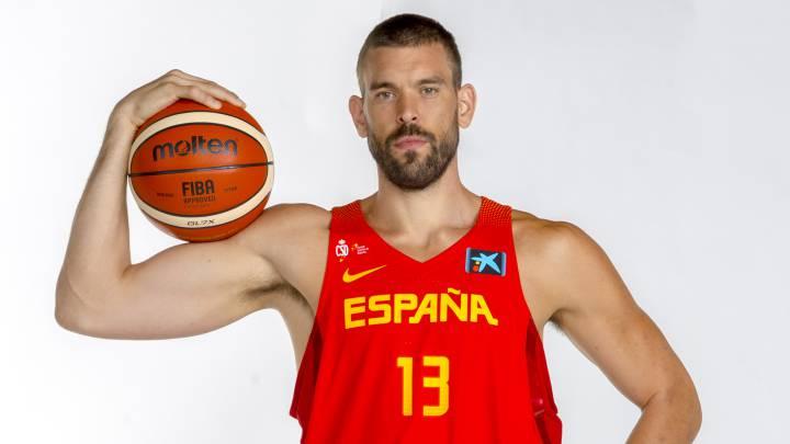 Marc Gasol en el Mundial de baloncesto de China