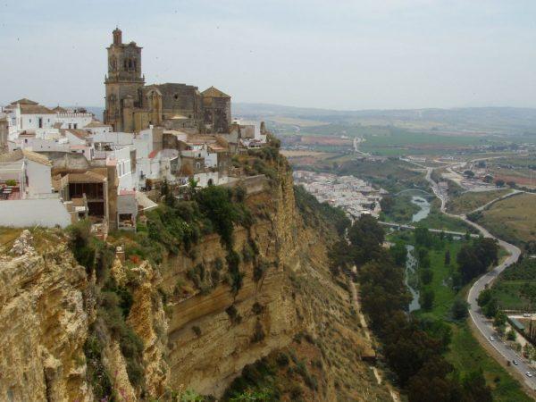 Acros de la Frontera, pueblos acantilados pueblos blancos Cadiz