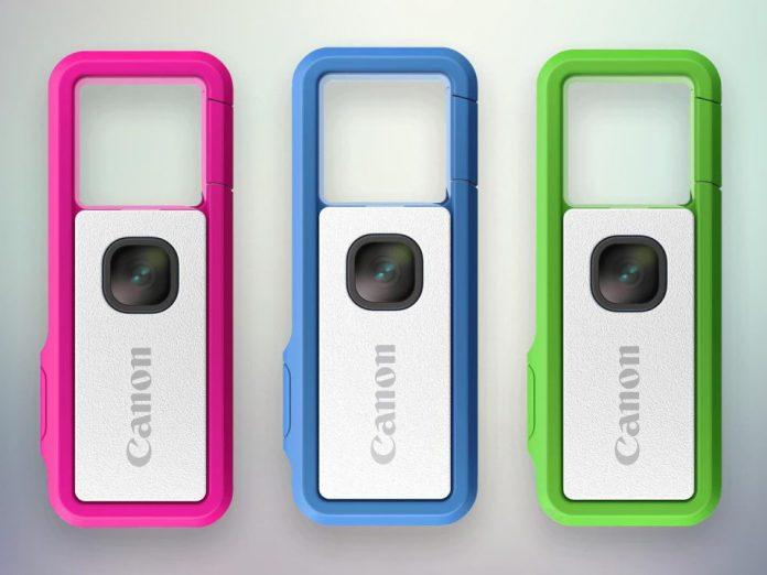 Canon Ivy Rec de tres colores (rojo, azul, verde)