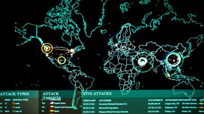 Mapa de ciberataques