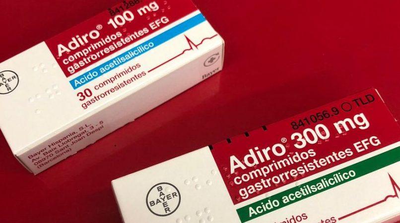paracetamol aspirina adiro