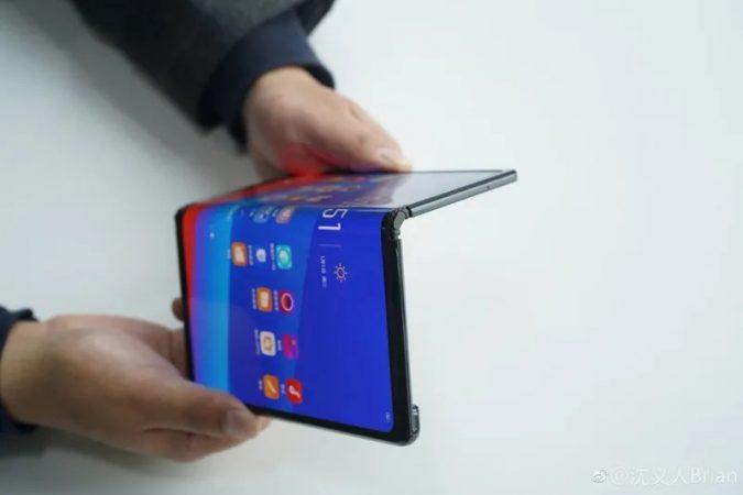 Oppo Foldable, móviles plegables