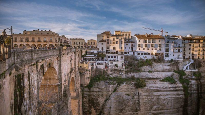 pueblos acantilados: Ronda, Málaga