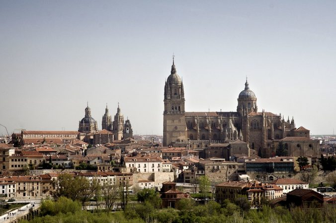 Salamanca, ciudades españolas