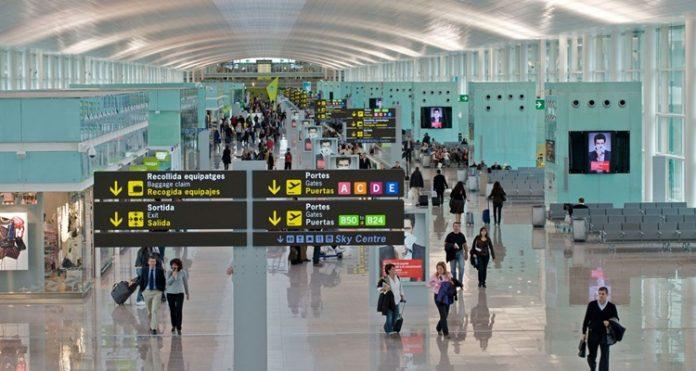 El aeropuerto de El Prat Barcelona
