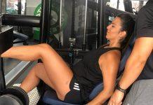 El entrenamiento de Irene Junquera