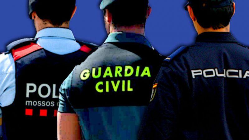 Policía Nacional Guardia Civil Mossos