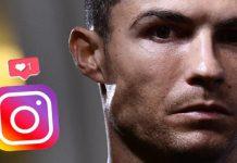 Futbolistas Instagram Ronaldo, Messi, Neymar
