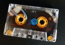 Casette cinta tecnología