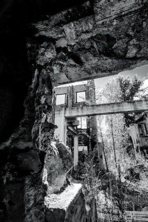 Aserradero de Navarra lugares abandonados