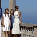 La Reina Letizia y su familia
