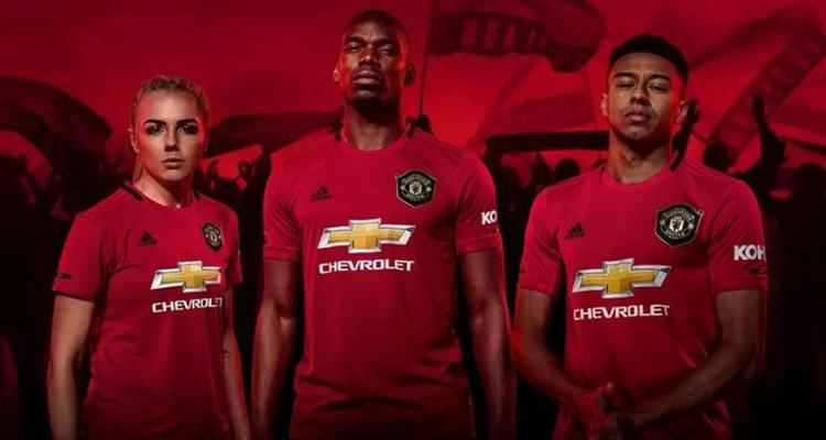 Camisetas más vendidas en el fútbol: Manchester United
