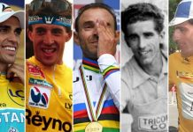 Indurain, Valverde, Contador