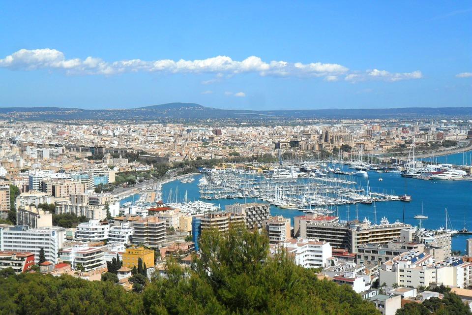 Palma de Mallorca, destinos España vacaciones