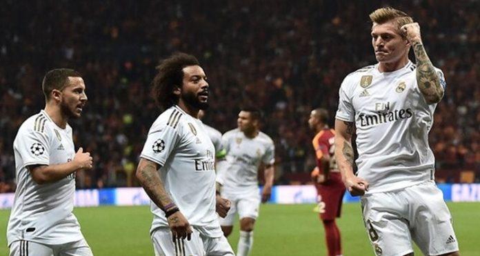 Sueldos futbolistas Real Madrid