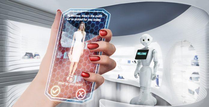 tecnología en la casa y realidad aumentada