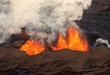 Volcanes en erupción