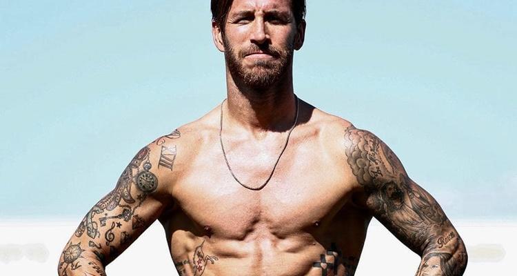 Asi seria Sergio Ramos sin tatuajes