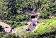 Indra tuneles Colombia