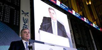 Javier Hernani, Consejero Delegado de BME.