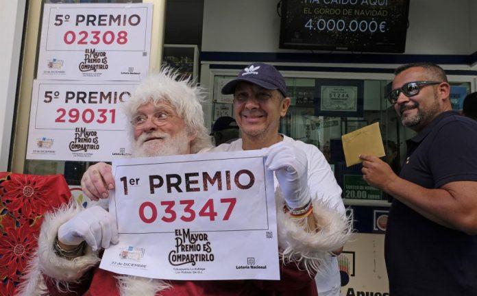 Loteria navidad impuestos