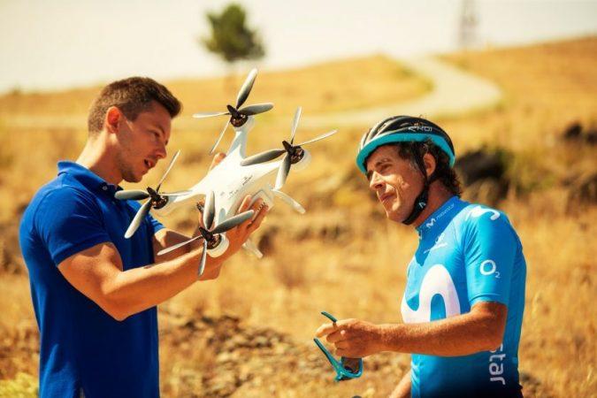 Telefónica tecnología accidentes dron