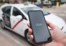 Uber taxi Madrid