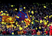 Jugadores Barcelona independentismo
