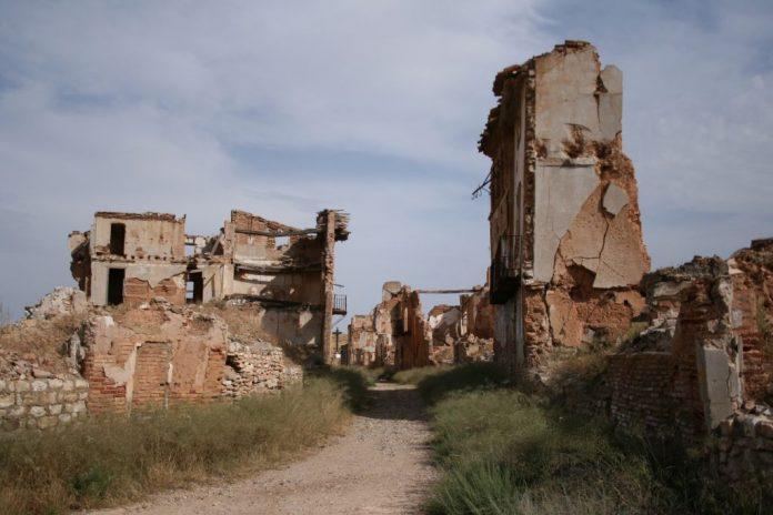 Belchite, pueblos con leyendas España