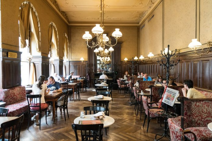 Cafe Sperl de Viena, restaurantes bonitos