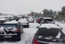 coche mal tiempo