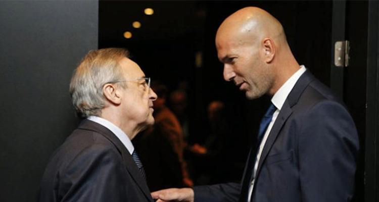 Florentino, regreso de Zidane Real Madrid