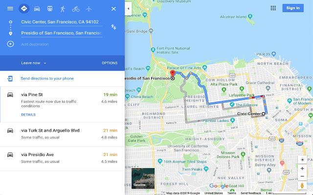 Google Maps Kompass Anzeigen Pc