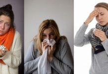 gripe resfriado alergia