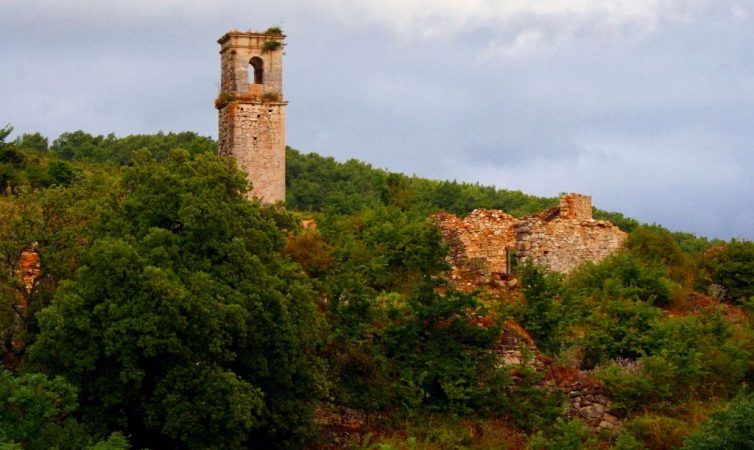 Ochate, pueblos fantasma, España