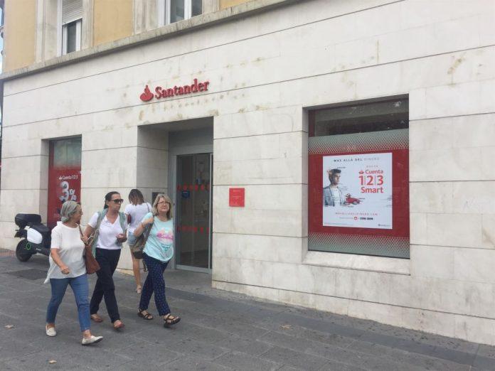 oficinas Santander cierre ERE